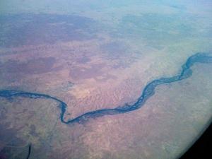 The tigris near Bhagdad