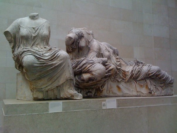 Some of the Parthenon Sculptures scrubbed 'clean' by the British Museum