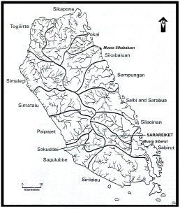 Languages groups and catchments