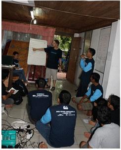 Surfaid planning meeting in Padang