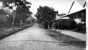 Rabaul's main street