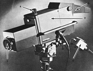 An image orthicon television camera from the 1960s