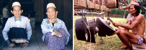 Dayak people already displaced by logging: Rukun Damai and Long Ubung