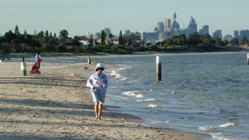 Lady Robinsons Beach Brighton, on the western shore of Botany Bay