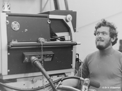 Working with an Image Orthicon Camera in 1968